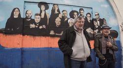 Artisti uniti, sulla stessa barca: Guccini lancia il nuovo album con un murales di