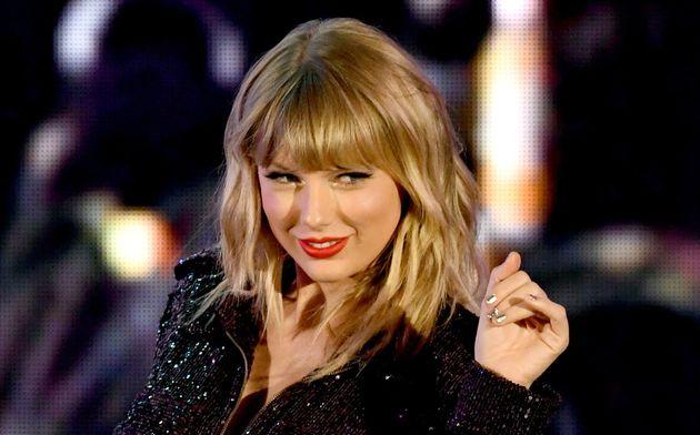 La actriz Taylor Swift, en un concierto el 19 de octubre de 2019 en Los
