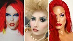 Halloween: 9 celebridades que levaram bem a sério a fantasia para a festa em