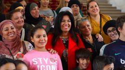 Samia Ghali emmène des enfants et des mamans voilées écouter le débat sur le voile au