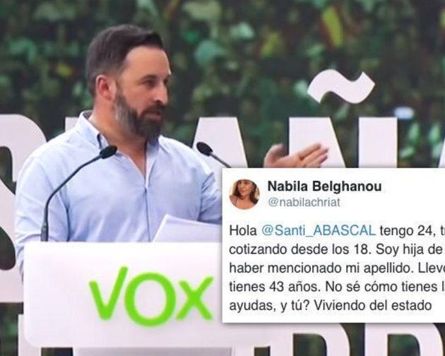 Santiago Abascal y la respuesta de la