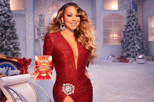 Mariah (and All I Want For Christmas) will feature in this year's Walkers Crisps Christmas