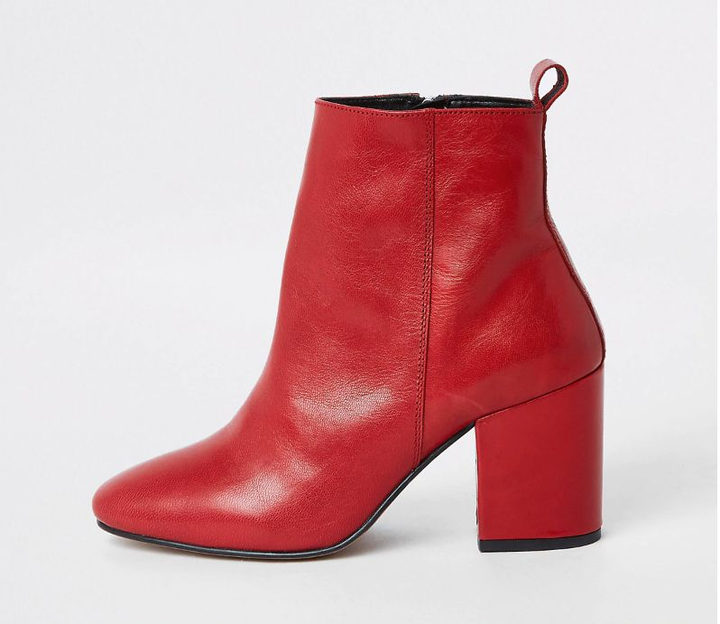online for sale cheapest price various colors 21 Pairs Of Red Ankle Boots To Rock This Season And Beyond ...