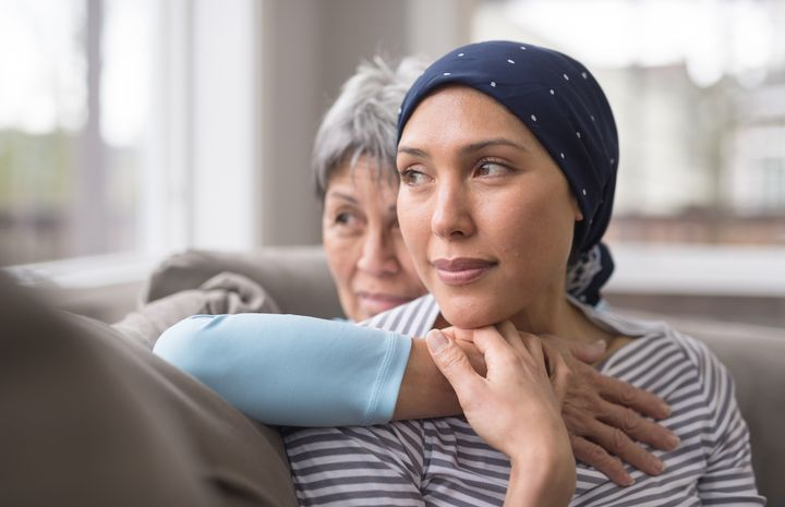 Although dealing with cancer takes up a lot of physical and mental space, it's important not to make all of your interactions with your loved one about their illness.