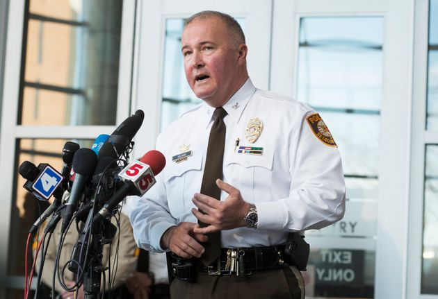St. Louis County Police Chief Jon Belmar, seen in 2015, is facing calls to step down following allegations...
