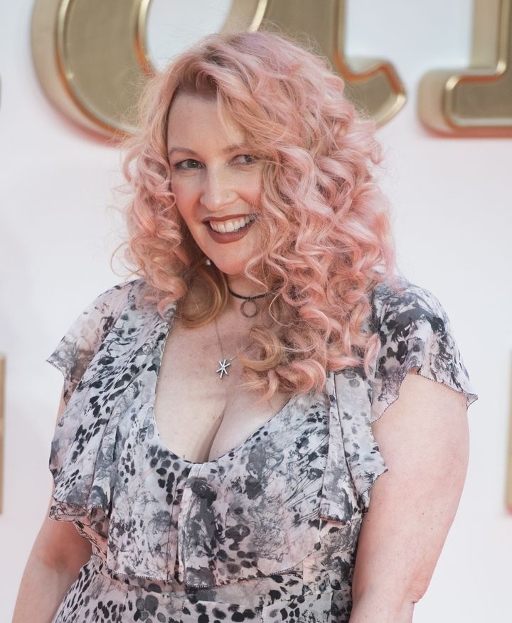 "Jane Goldman attends the ""Kingsman: The Golden Circle"" premiere in London in 2017."