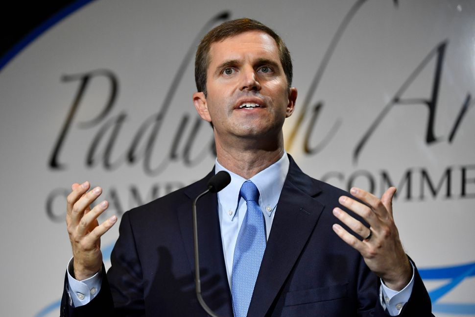 Kentucky Attorney General Andy Beshear has given Democrats hope that they can reclaim the governor's seat in Tuesday's electi