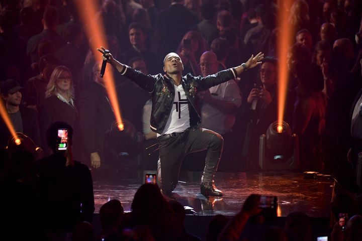 Kirk Franklin performs during the 50th Annual GMA Dove Awards at Lipscomb University on October 15, 2019, in Nashville, Tenne