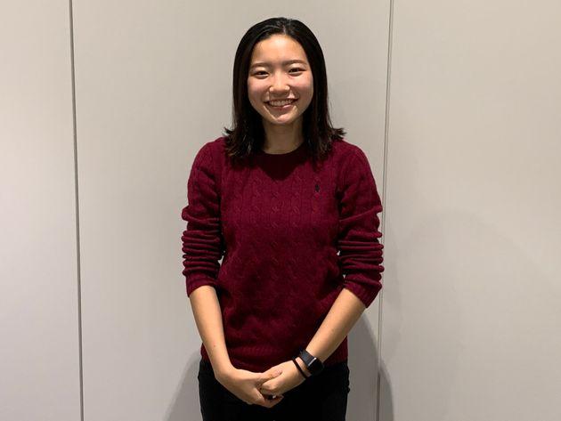 選考で約500人の中からCFOに選ばれた高校2年生の小澤杏子さん
