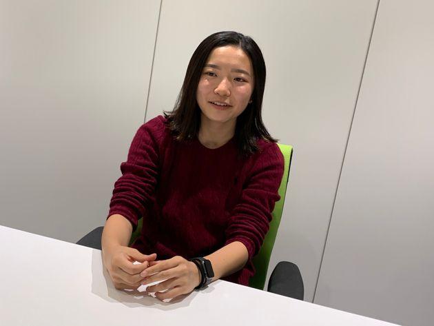CFOに選ばれた小澤さんは、高校で「フラボノイドと腸内細菌の関係」というテーマで研究をしてきたという。