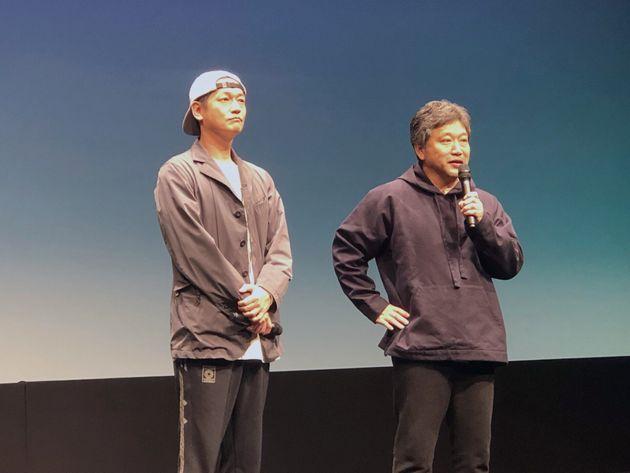 井浦新さん、是枝裕和さん