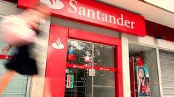 El Santander gana 3.732 millones hasta septiembre, el 35 % menos, por el
