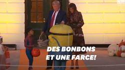 La façon dont Trump distribue ses bonbons à Halloween vaut le