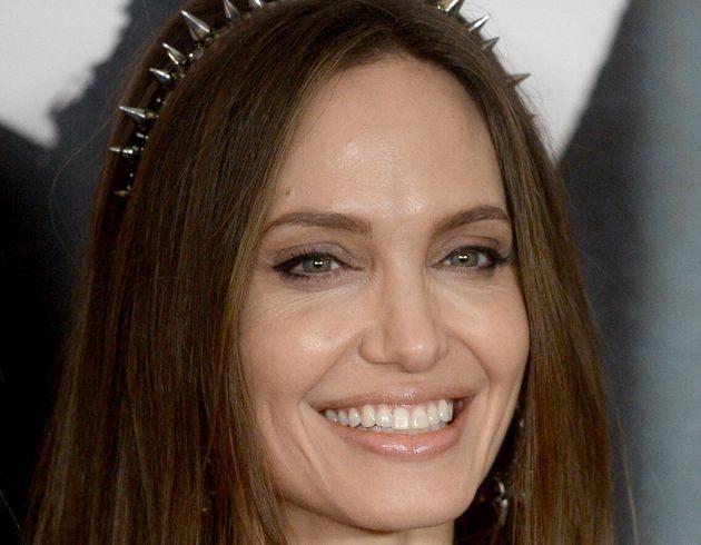 Angelina Jolie, en el estreno de 'Maléfica: maestra del mal' en Londres el 10 de octubre de