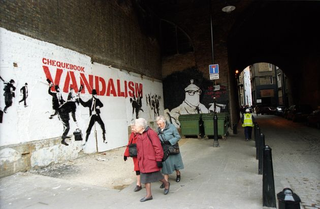 Banksy Caught On Camera: New Photo Book Documents Street Artist's Early