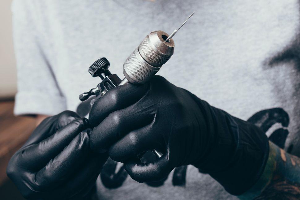 Μηχάνημα για τατουάζ με βελόνα μιας χρήσης