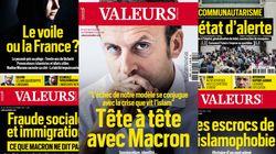 Macron choisit le très droitier Valeurs Actuelles pour parler islam et