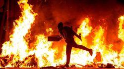 El Gobierno admite su preocupación por más disturbios en Cataluña el día de