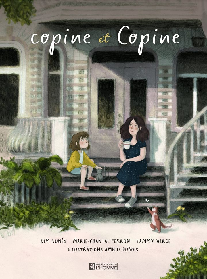 La BD «copine et Copine» aborde la relation belle-mère et belle-fille.