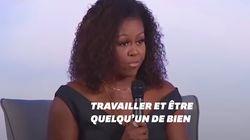 Michelle Obama explique comment elle tente de combattre le