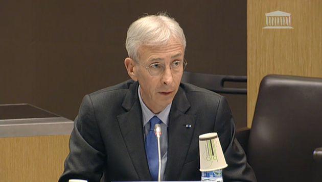 Didier Lallement, préfet de police de Paris, devant l'Assemblée