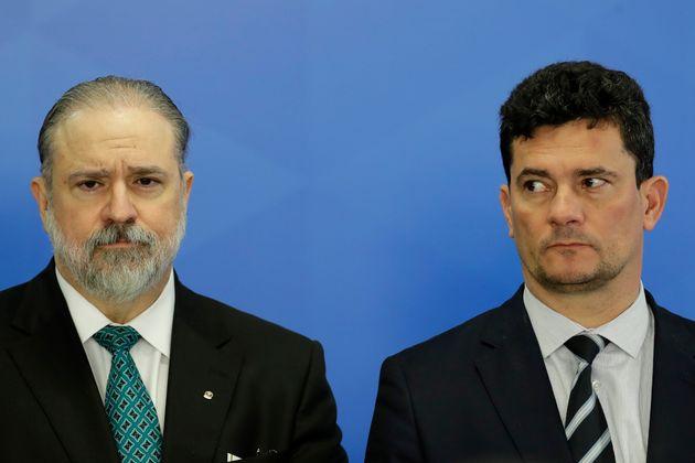Ministro Sérgio Moro (Justiça) enviou ao procurador-geral da República, Augusto...