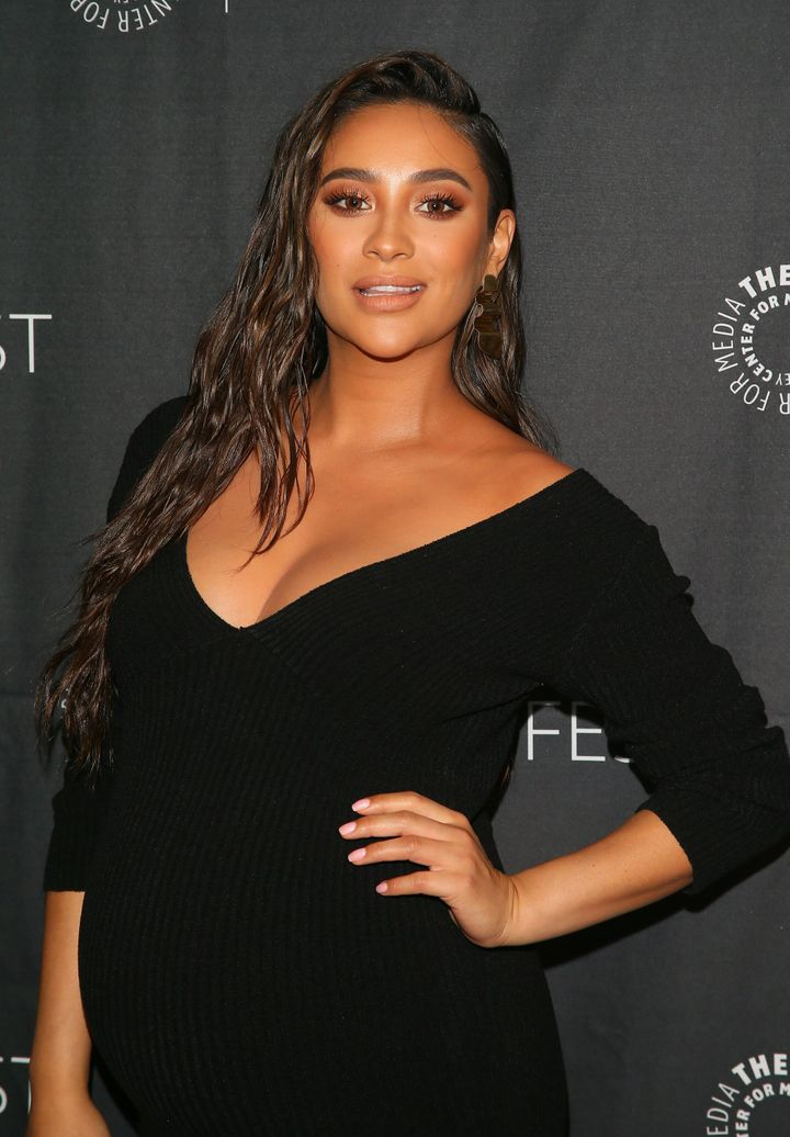 32-year-old Canadian actress Shay Mitchell has plenty on her plate, raising a newborn and taking charge of BÈIS, her travel line of bags and accessories.
