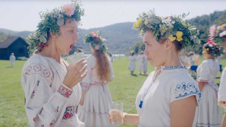 A still from Midsommar