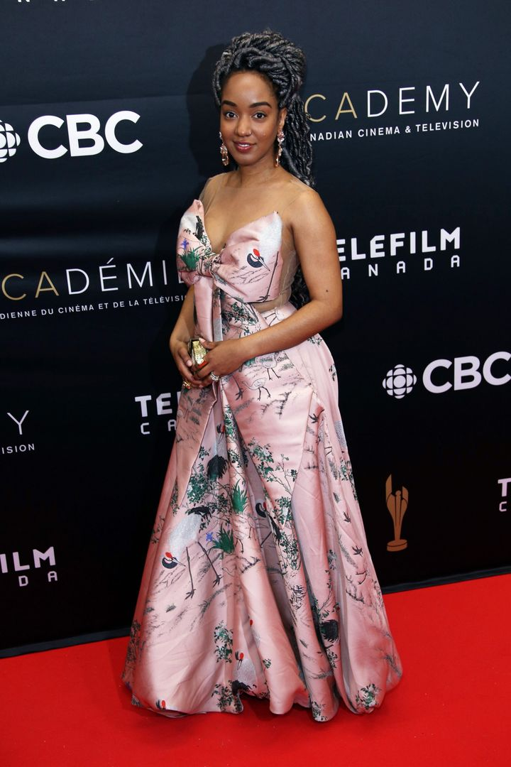 "Writer Amanda Parris won the Governor General's prize for drama for her play ""Other Side of the Game."""