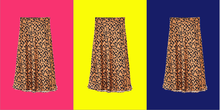 Leopard print midi skirts aren't going anywhere anytime soon. Here's an affordable look-alike to the one that started it all.