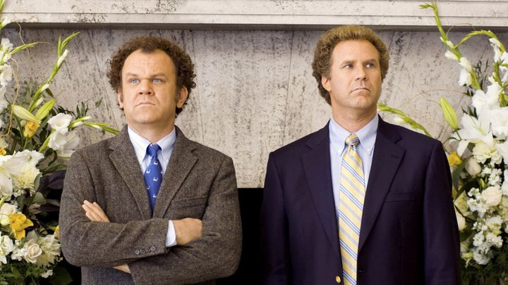 "John C. Reilly and Will Ferrell in ""Step Brothers."""