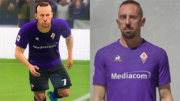 Les internautes avaient accusé EA Games d'avoir négligé le profil de Ribéry suite à son départ du Bayern...