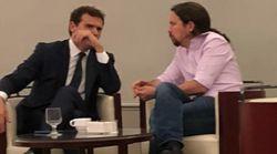 Pablo Iglesias explica lo que estaba pasando en esta foto con Albert