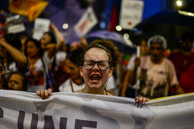 Em 2018, 1.206 mulheres foram vítima de feminicídio, de acordo com dados do Anuário...