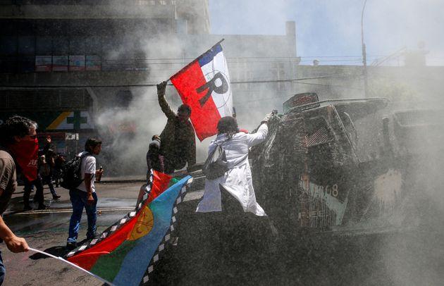 Protestas en Valparaíso,