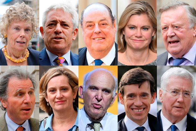 Some of the MPs who have announced their intention to stand down at the next