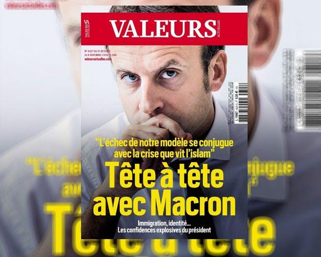 Le président de la République Emmanuel Macron s'est exprimé dans le magazine ultra-conservateur
