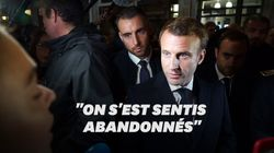 Macron fait face à la colère des habitants de Rouen après