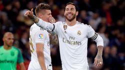 'Manita' del Madrid al Leganés (5-0) en el estreno goleador de
