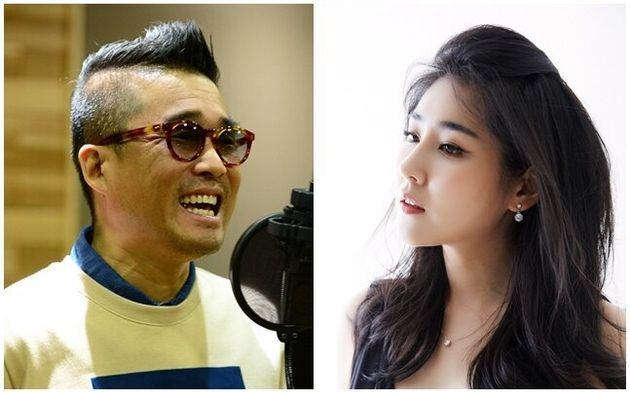 가수 김건모와 피아니스트
