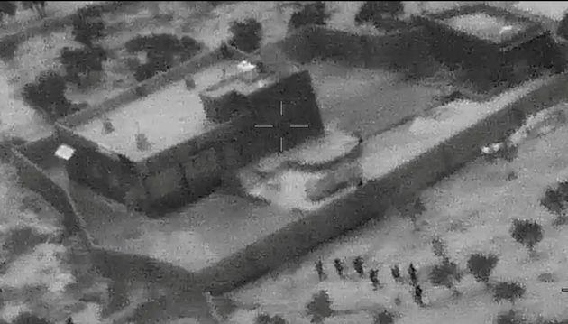 Le Pentagone a dévoilé les images du raid mené dans le complexe où se cachait...