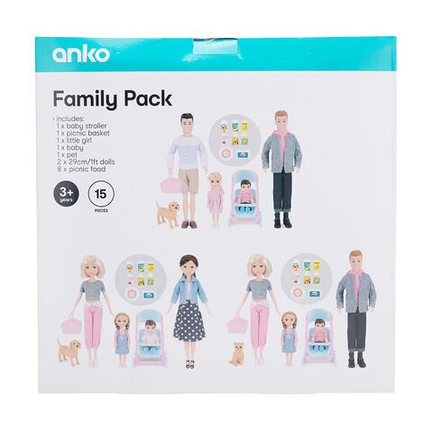 Kmart Australia has been applauded for introducing this family doll set which includes same-sex parents.