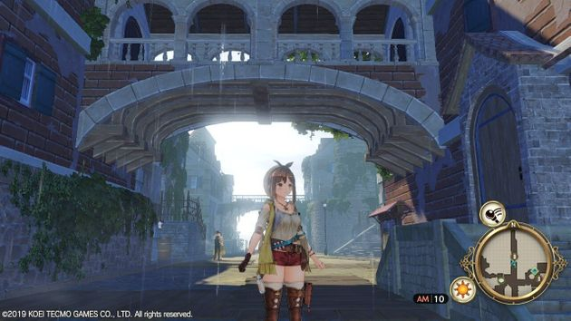 Atelier Ryza on Nintendo Switch, handheld