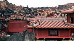 首里城火災、台湾の蔡英文総統が日本語メッセージ「かつての華麗な姿を取り戻せることを心より願っています」