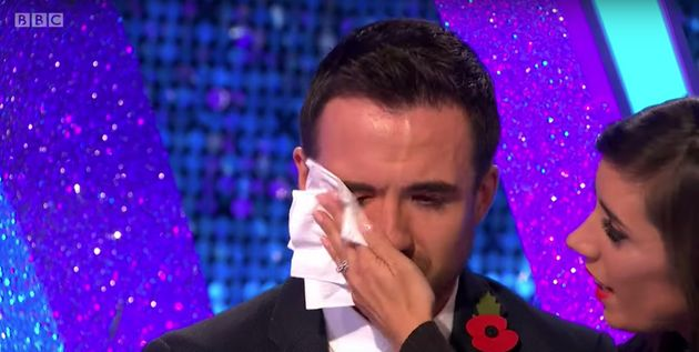 Will Bayley made a tearful appearance on Wednesday's It Takes Two alongside his partner Janette