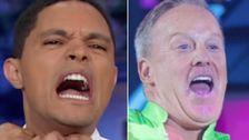 Trevor Noah Macht Spicer ' s Dirty 'DWTS' - Taktik, fordert er Ihn Zum Tanz-Off
