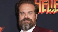 David Harbour Struggles With A Certain Word In 'Stranger Things' Blooper