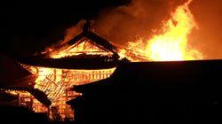 首里城火災、在日米軍もお見舞いメッセージ「ほんとうに心が痛みます」