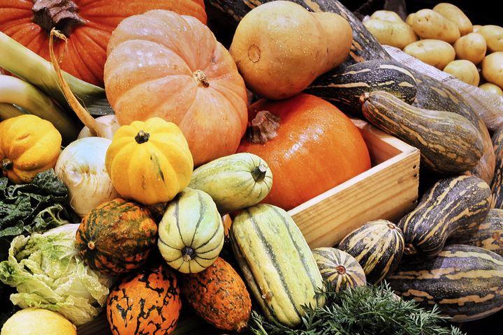 Halloween arrive en pleine saison des citrouilles, potirons, potimarrons, pâtissons et autres cucurbitacées.