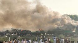 파키스탄 열차 화재사고로 최소 70명이